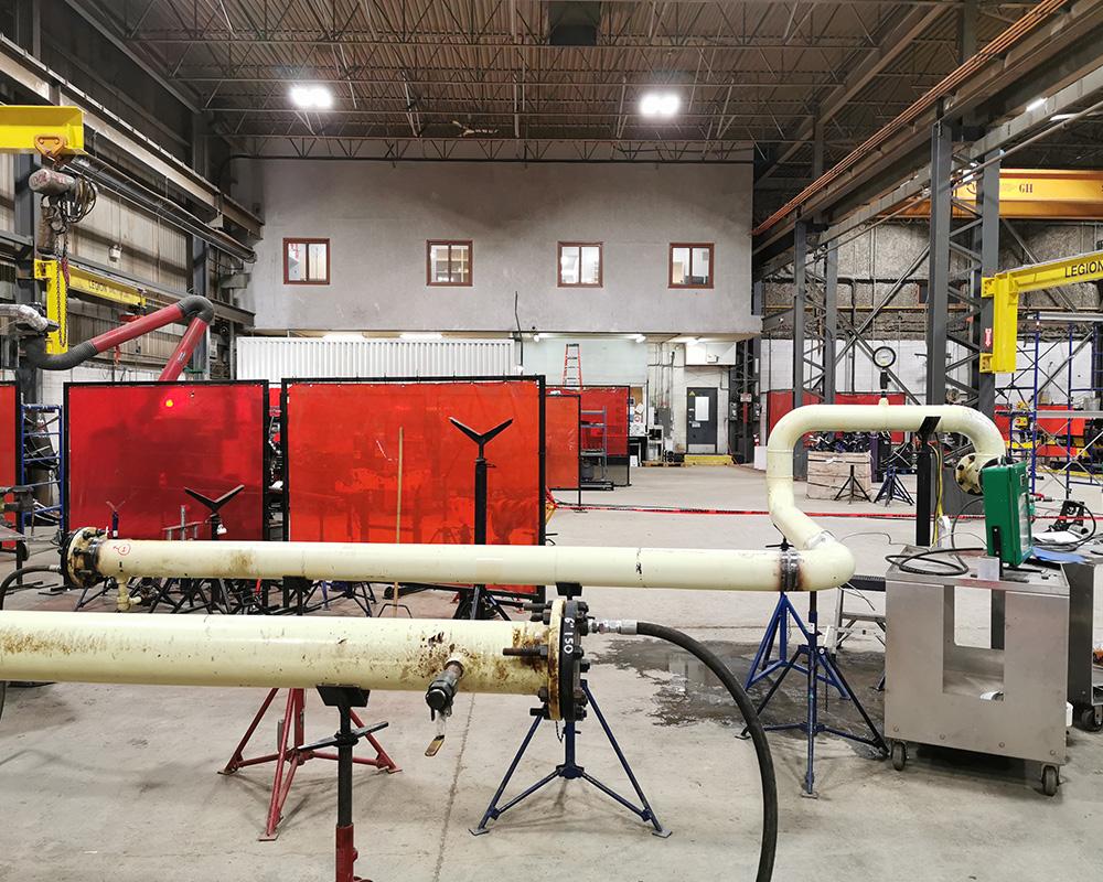 hydro & pneumatic testing edmonton
